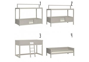 4-in-1-Bed-combinatie-Lifetime-dakconstuctie-PSSlapen.nl