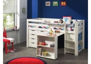 Halfhoogslaper-met-bureau-laden-en-boekenkast