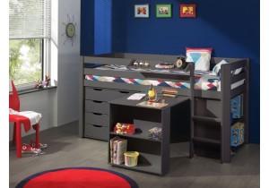 halfhoogslaper-met-bureau,-laden-en-boekenkast-taupe