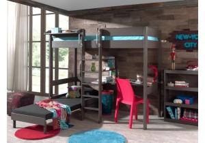 Pino-hoogslaper-met-bureau-en-bedbank-taupe