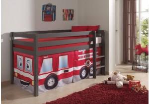 Halfhoogslaper-Taupe-Brandweerwagen