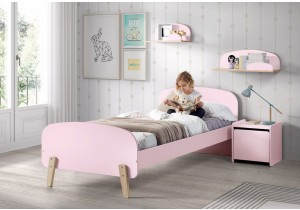 Kiddy-bed-roze