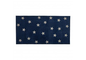 Vloerkleed 8450-2 Blue & Stars