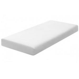 Hoeslaken - twijfelaar wit 120x200