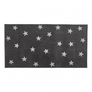 vloerkleed 8450-1 Grey & Stars