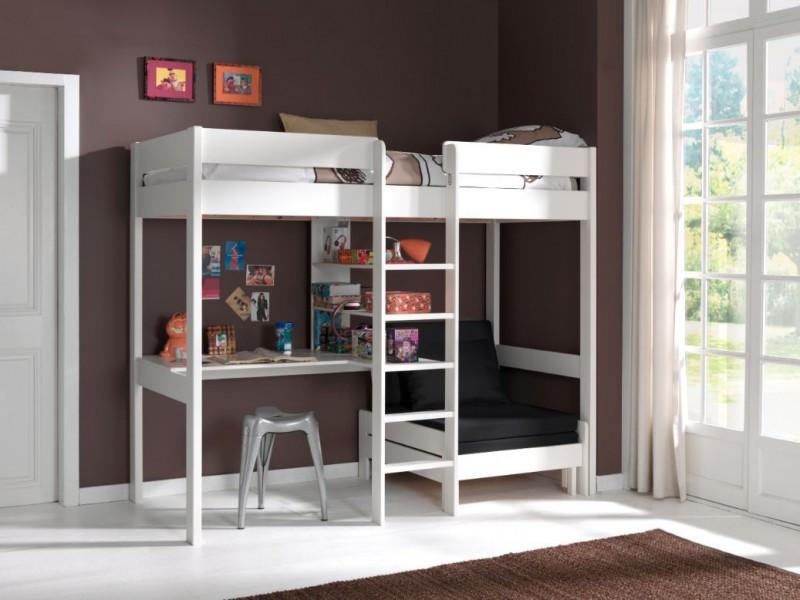 Hoogslaper-met-bureau-en-bedbank-Pino-Wit