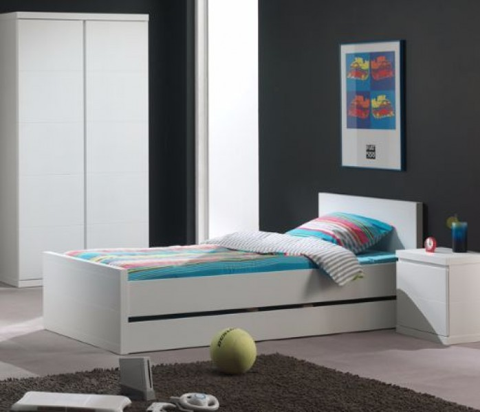 Bed Lara wit 90x200