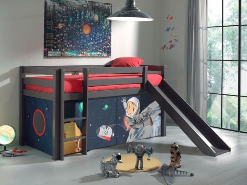 Halfhoogslaper-met-glijbaan-Space-tent-taupe