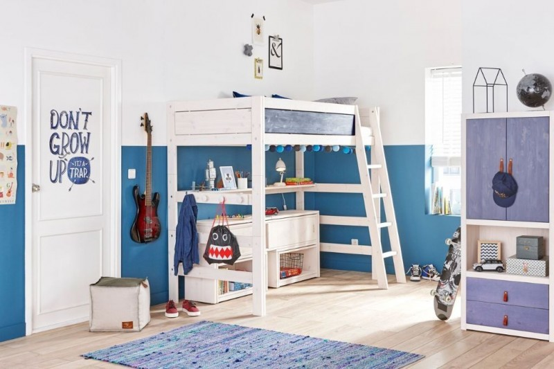Halfhoogslaper White Wash.Lifetime Play Store Kastmodule White Wash Ps Slapen