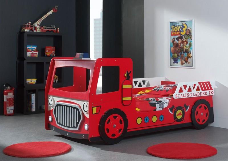 Brandweer bed - inclusief LED - PS Slapen.nl