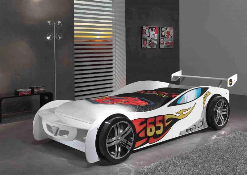 Autobed Le Mans wit - PS Slapen.nl